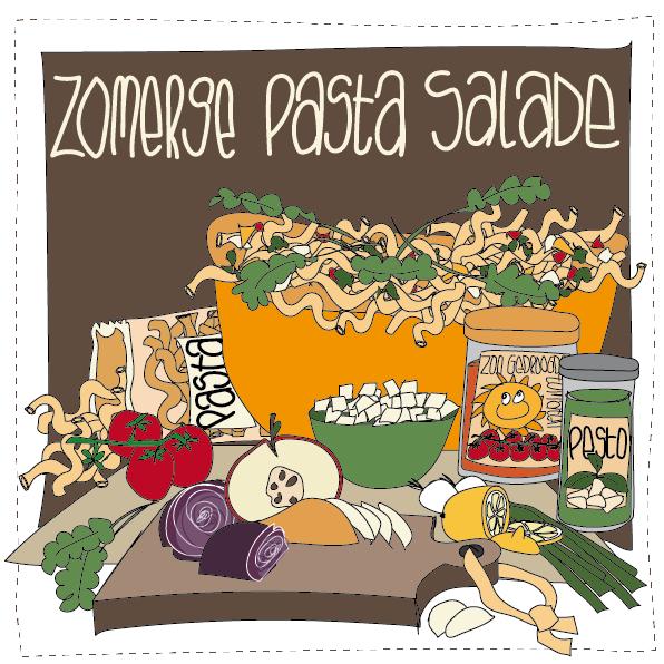 Zomerse Pasta salade